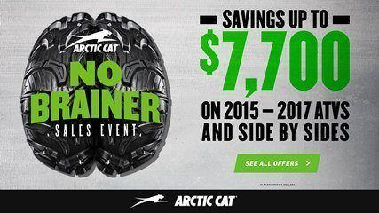 Arctic Cat - No Brainer Sales Event - SxS - MY2017